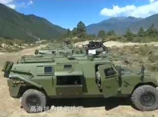 我山地步兵列裝新版猛士突擊車