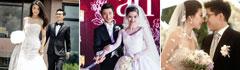 盘点中国女星出嫁时穿上的那些大牌婚纱