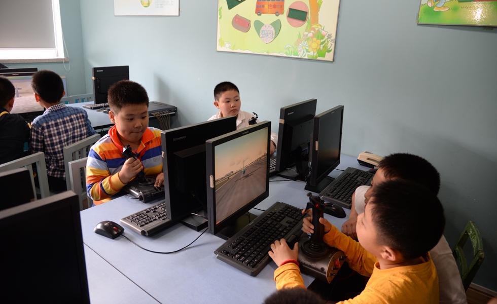 南京市北京东路小学校园掠影