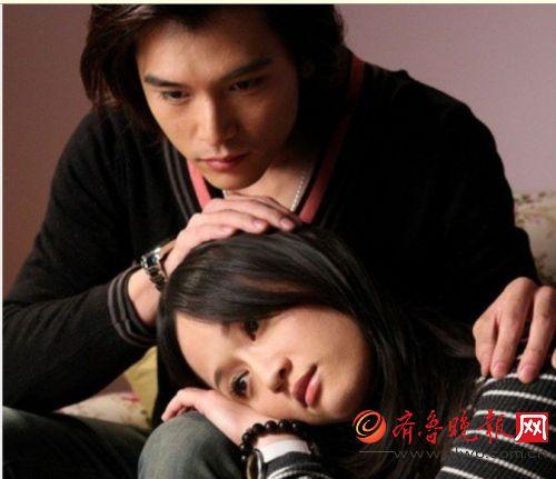 陈乔恩和邱泽在2009年合作电视剧《福气又安康》时传出绯闻.
