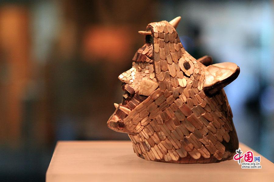 墨色傾城(二十九)博物館萌物,對墨式古文明的輕鬆閱讀