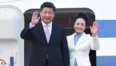 习近平抵达新加坡开始对新加坡进行国事访问