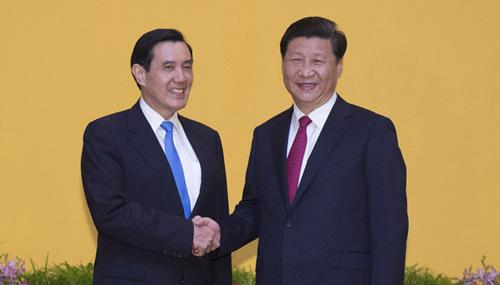 两岸领导人会面在新加坡举行