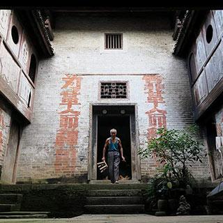 """广西""""红色标语第一村""""旧标语成风景[组图]"""