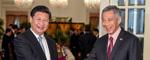 习近平主席访问越南、新加坡