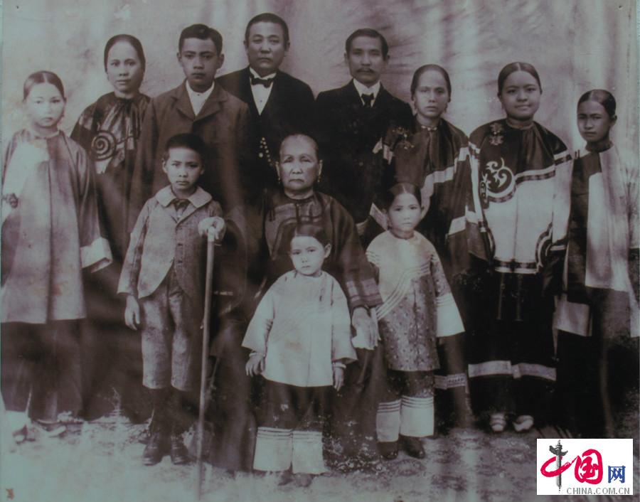 珍贵老照片穿越百年历史