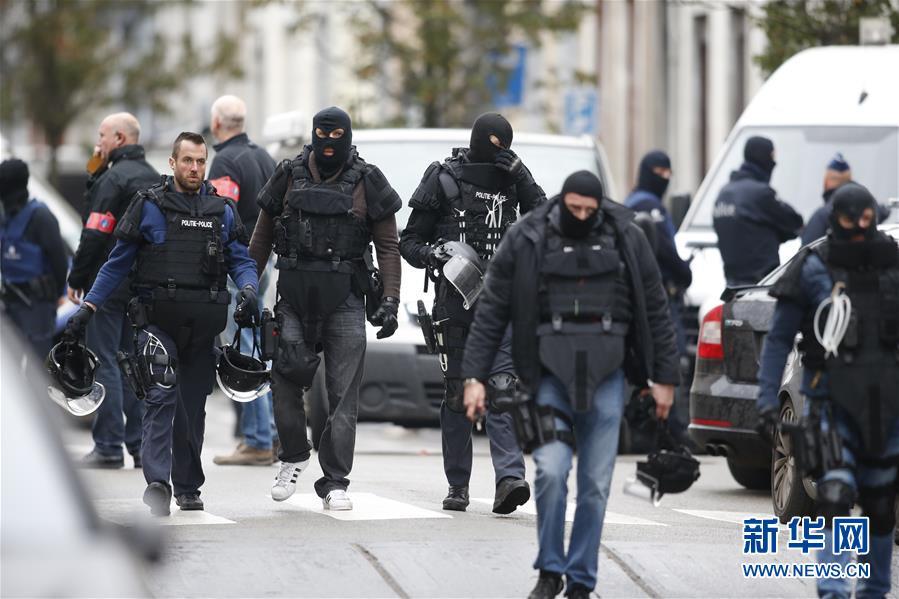 比利时警方抓获一名巴黎恐袭嫌疑人[组图]