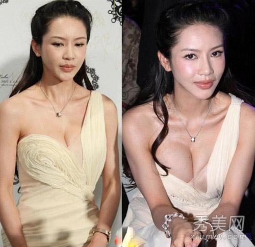 操妹妹逼��n�_三个乳房美女模特爆红 揭靠g奶胸器上位女星
