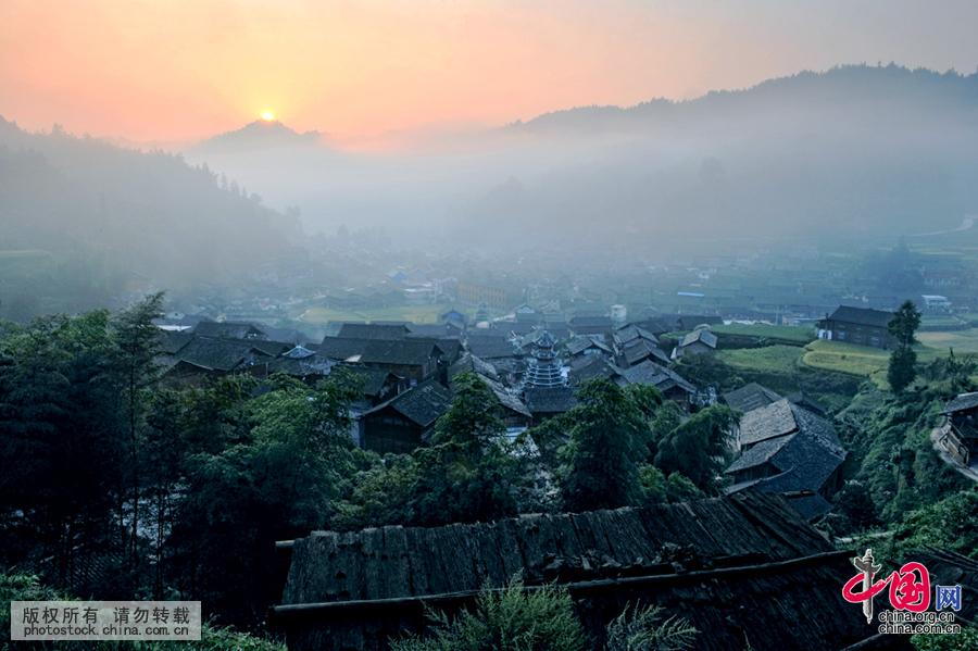 第二大侗寨时光边缘的古村:'千三侗寨'地扪[组图]