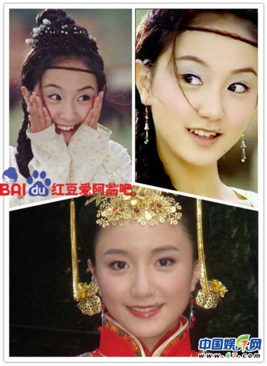 李倩的古装古灵精怪,让我们记住的是她的生动活泼