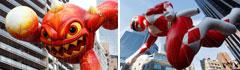 纽约举行梅西百货感恩节大游行