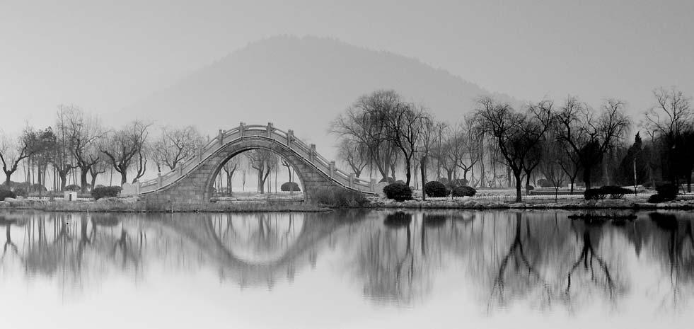 徐州:雪後雲龍湖銀裝玉砌的童話,如詩如歌(圖)