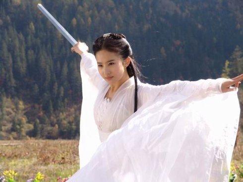贾静雯娇俏刘亦菲仙气 女星穿古装暴露颜值
