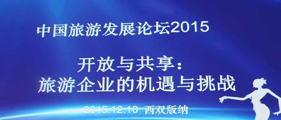 """权威报告:2015年""""中国旅游集团20强""""名单曝光"""