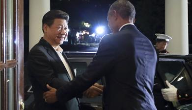 习近平同美国总统奥巴马会晤