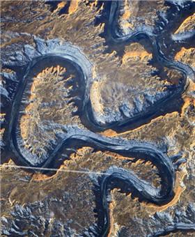 NASA集齐自然界中完整英文26字母表
