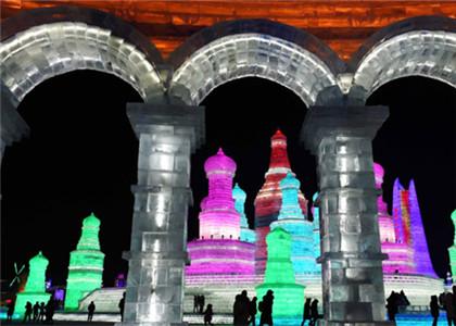 第32届中国哈尔滨国际冰雪节开幕