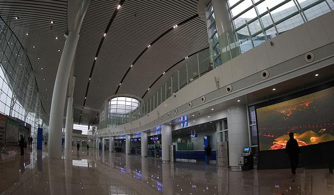 武当山机场2月5日正式运营 大厅设计引视觉冲击