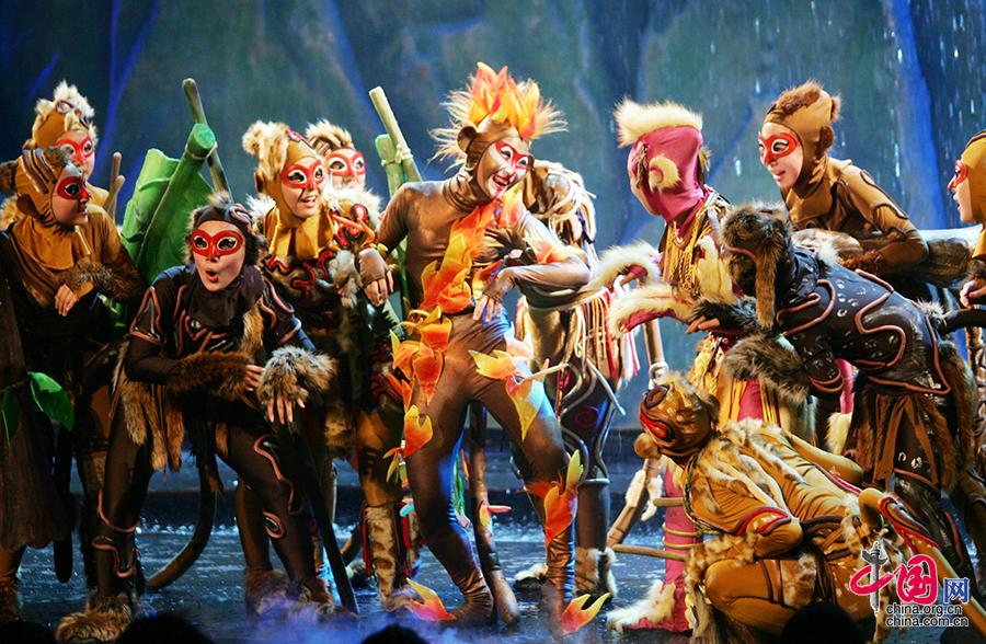 过大年看大戏 北京喜剧院《猴王》《三个和尚》迎猴年[组图]