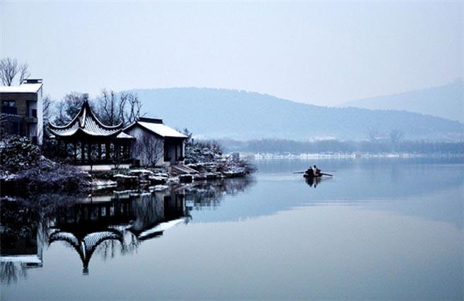 雪後雲龍湖:散發著如詩如歌的林園韻味