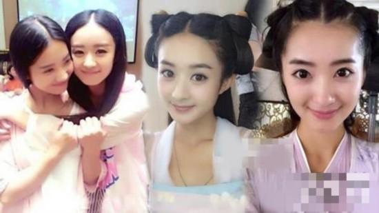 赵丽颖替身:李可-情何以堪 盘点那些竟美过本尊的女星替身 对比图图片