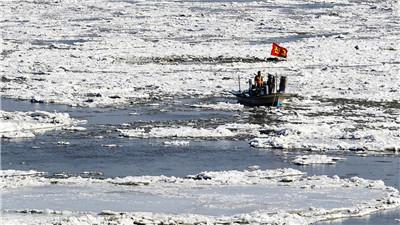 首尔遭15年一遇寒潮 汉江大部分结冰