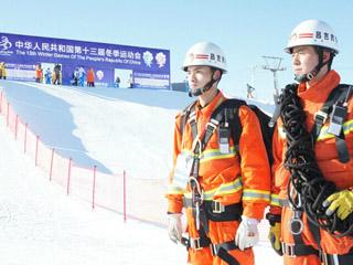 新疆消防:在冰雪中用行动兑现平安承诺