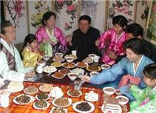 朝鲜:正月大十五迎月