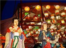 日本:中华街里赏花灯