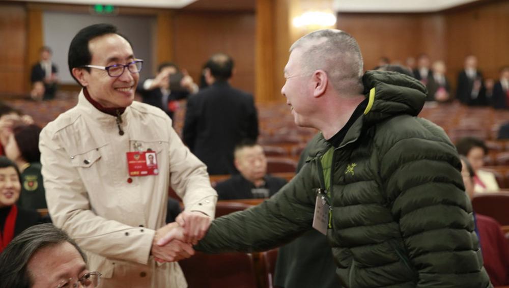 政协会议开幕 独家记录全明星会场