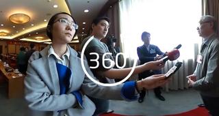 【中国网全景两会】记者渠津的一天