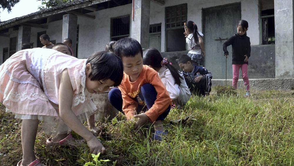 两会特别策划:一所山村小学的日常