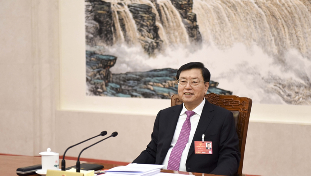 张德江主持主席团常务主席第二次会议