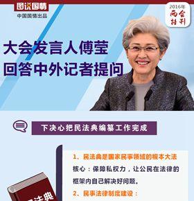人大發言人傅瑩回答中外記者提問