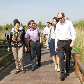 Secretary General of AIPH Inspects Preparatory Work of Beijing Expo 2019 in Yanqing