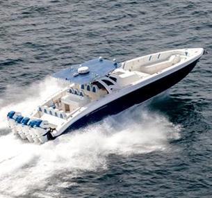 44米Open半定制私人游艇