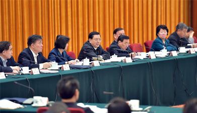 """张德江:依法保障人民群众""""舌尖上的安全"""""""