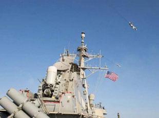 """俄戰機波羅的海""""模擬攻擊""""美驅逐艦"""