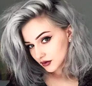 安利几款不同的奶奶灰发色给你