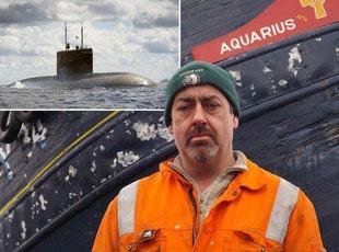 美漁民用漁網撈出美軍核潛艇