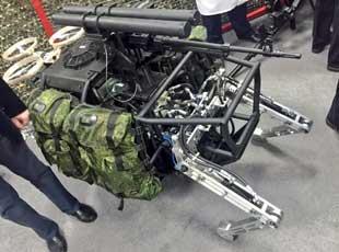 俄'大狗'机器人装备武器 盘点中美等多国'大狗'