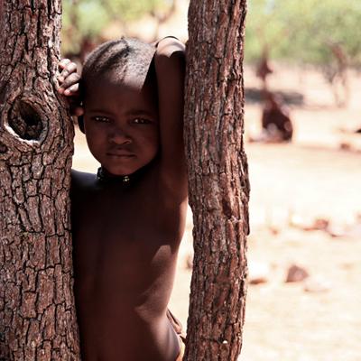 纳米比亚古老的辛巴人部落---曾经非洲最富庶强大的游牧民族[组图]