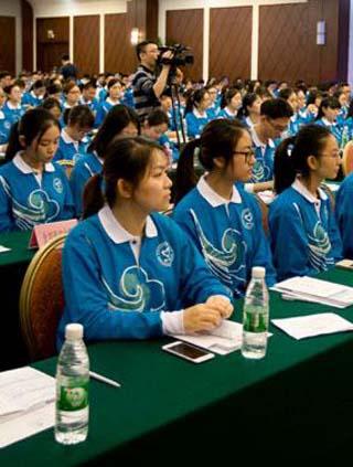 320名志愿者服务首届世旅大会 展示中国首都风采