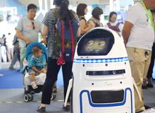 北京科博会:跳舞机器人成表情帝