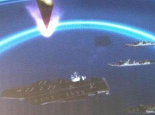 东风21D导弹模拟攻击航母画面曝光