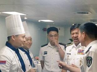 軍情24小時:馬來西亞海軍司令訪問遼寧艦