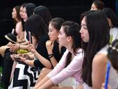2016环球小姐北京赛区海选 美女云集场面火爆
