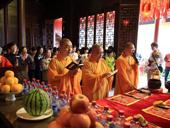 上海寺院为高考考生举办祈福活动
