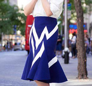 想优雅你只需一条鱼尾裙