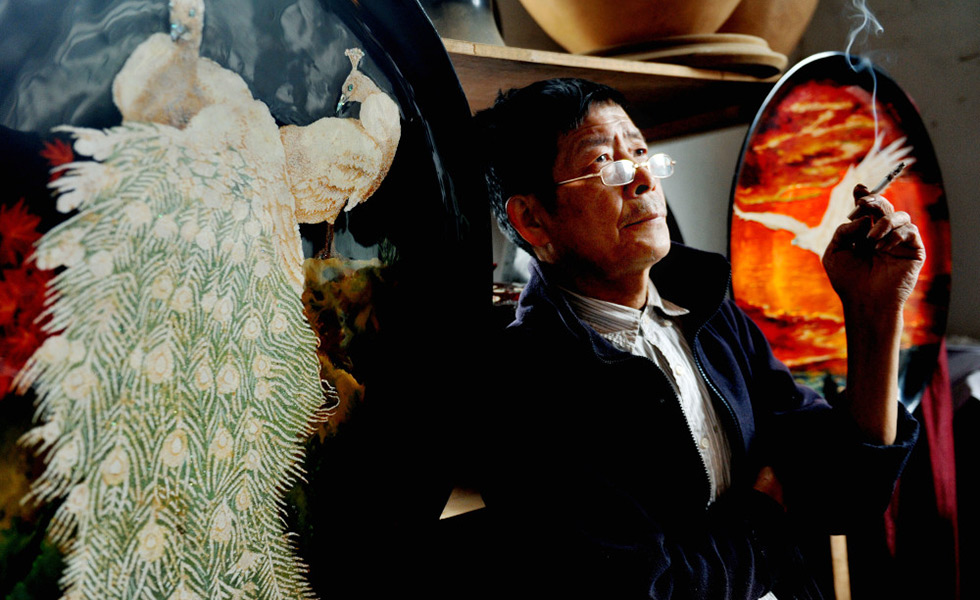 脱胎漆器传承人李波生:愿意学习这门传统手艺的年轻后生少之又少了[组图]